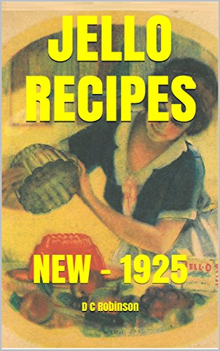 JELLO RECIPES: NEW - 1925
