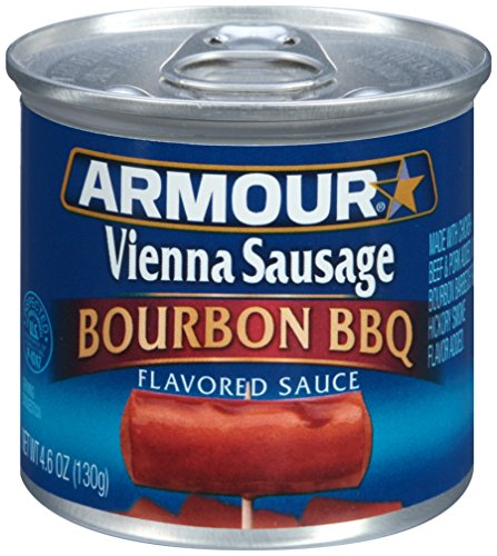 Armour Vienna Sausage, Bourbon BBQ, 4.6 Ounce (Pack of 24)