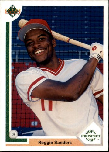 1991 Upper Deck Baseball Rookie Card #71 Reggie Sanders Near ()