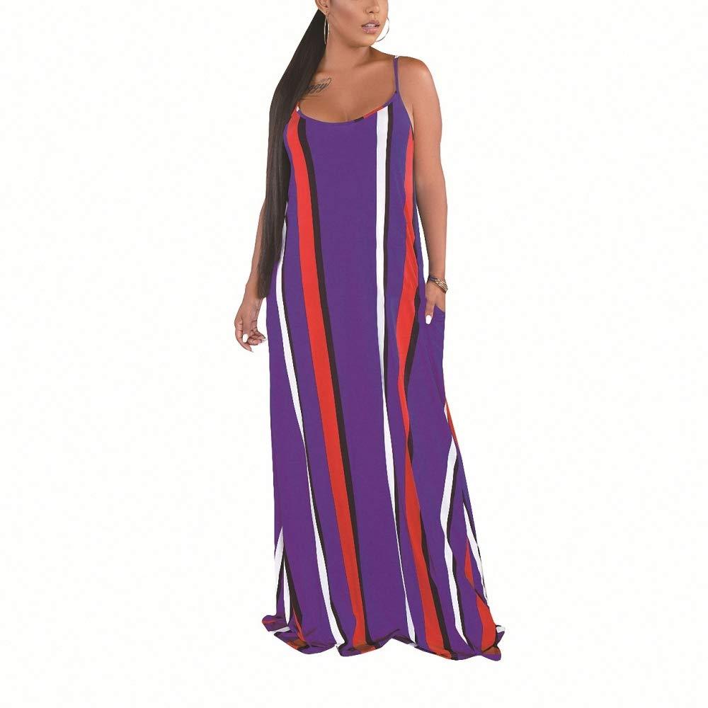 Vestido de Verano Moda Sexy Sleeveless Sling Medio Cintura Media ...