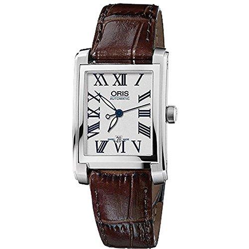 Oris Rectangular Date Ladies Watch 56176564071LS