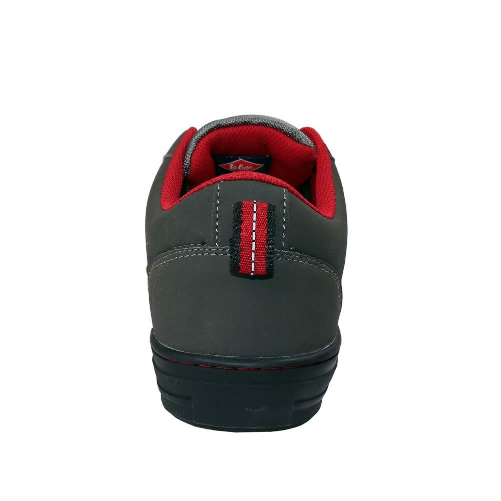 1 bleu marine Lee Cooper Workwear LCSHOE054 Chaussures de s/écurit/é r/étro unisexe en polyur/éthane et cuir nubuck aux normes/SB//SRA 7//41
