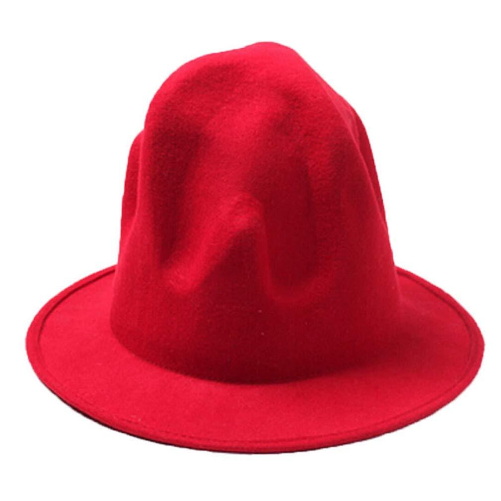 Pharrell Hat Felt Fedora Hat for Woman Men Hats Black Top Hat