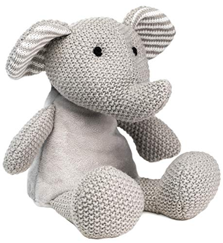 WILD BABY Heatable Plush Pal Toy Warm Cozy Lavender Scented Microwavable Stuffed Animal Elephant