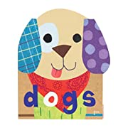 Jill McDonald Kids Shaped Chunky Book, Puppy Tails