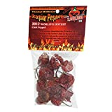 Dried Trinidad Moruga Scorpion Pepper Pods, 0.25 Ounce