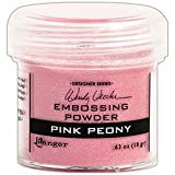 Ranger WEP-45724 Wendy Vecchi Embossing Powders, 1 oz, Pink Peony