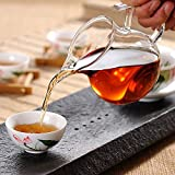 tea pitcher chinese - ELITEA Clear Glass Tea Sharing Pitcher (250ml, 8.5 oz. fl)…