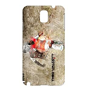 Arsenal FC football player Theo Walcott Character design 3D hard plastic phone case for Samsung Galaxy Note 3 N9005