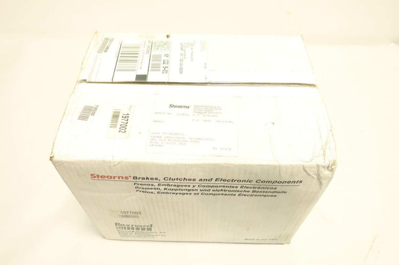 Amazon.com: REXNORD 106536105DQB Stearns Brake Motor Assembly REV E 15LB-FT 460V-AC: Industrial & Scientific