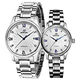 Mens automatic mechanical watches/ couple table/Waterproof watch-C