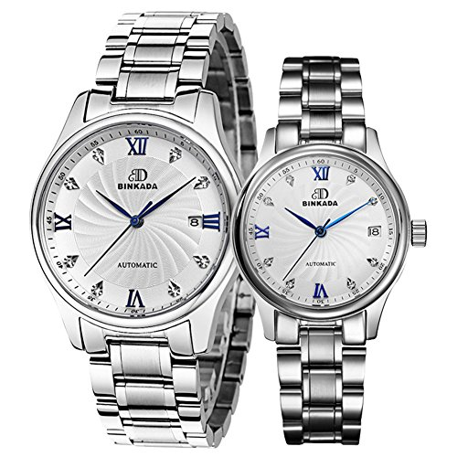 Mens automatic mechanical watches/ couple table/Waterproof watch-C by UEWURTTS