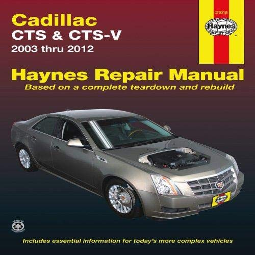 Haynes CTS and CTS-V for 2003 thru 2012 Repair Manual (21015)