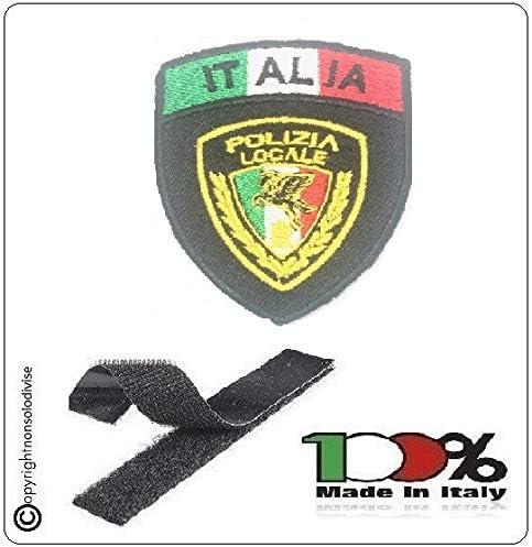 GS1 Parche Escudo con Velcro policía Locale Nuevo Logotipo Nacional Negro + Bandera Art. PL-New: Amazon.es: Hogar