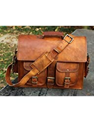 Goatter Genuine Leather Macbook/Laptop 16.5 inch EveryDay Messenger Bag