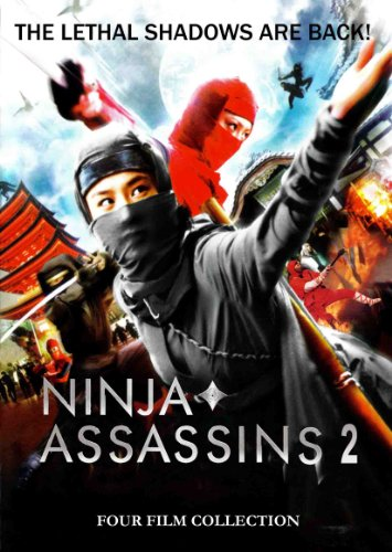 Ninja Assasins 2: 4 Film Collection (Ninja Assassin)