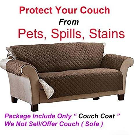 Buy Glive Reversible Couch Coat Fits Any Style Sofa Slipcover Set