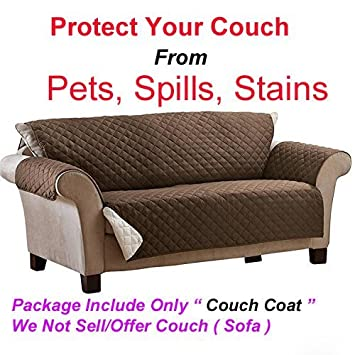 Astounding Gion Reversible Couch Coat Slipcover Set Couch Coat Stylish Barrier Against Pet Hair And Messy Spills Fits For Three Seater Sofa Lamtechconsult Wood Chair Design Ideas Lamtechconsultcom