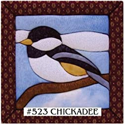 Quilt Magic 6-inch By 6-inch Kit, Chickadee