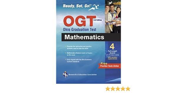 OGT Ohio Graduation Test Mathematics 3rd Ed. (Ohio Graduation Test ...