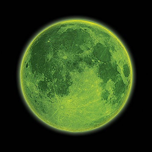 Inflatable Glow in the Dark Moon, 12