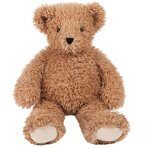 Vermont Teddy Bear - Amazon Exclusive Cuddly Soft Teddy Bear, Floppy, Brown, 18 inches - Firefighter Teddy Bear