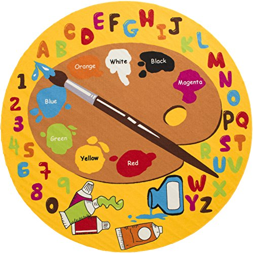 Small Abc Rug: FREE SHIPPING Kids Rug Kids ABC Little Artist Area Rug