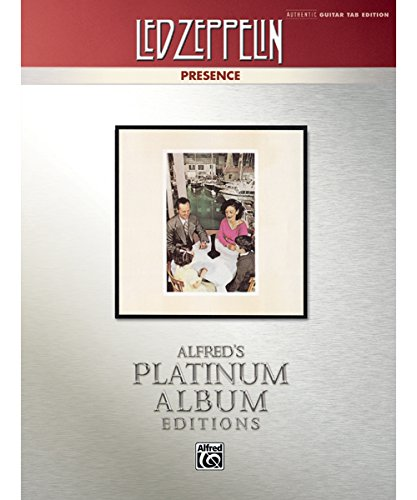 - Presence Platinum Guitar TAB Book ()