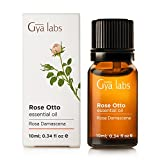 Rose Otto (Turkey) – 100% Pure, Undiluted, Organic, Natural & Therapeutic Grade Essential oil For Aromatherapy Diffuser, Health Skin and Relaxtion – 10ml – Gya Labs