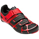 Pearl Izumi Men's Select RD IV Cycling Shoe, Black/True Red, 47 EU/12.4 D US