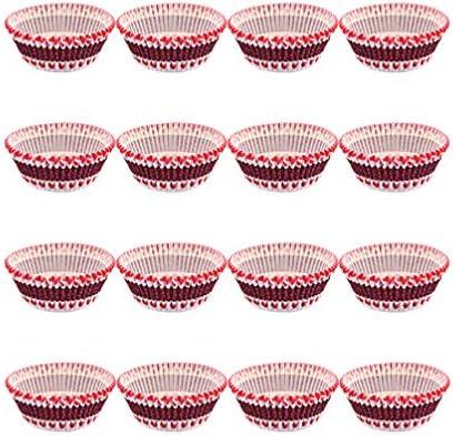 NUOLUX カップケーキ型マフィン型紙マフィンカップ耐熱紙製ラミネート加工カップケーキ焼型950枚入
