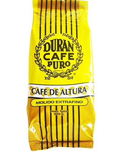 Cafe Duran Panama Coffee 1/2 lb Ground Extra Fine Cafe de Altura