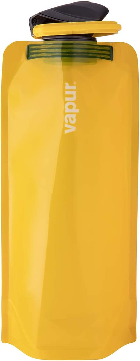 Vapur Solid Flexible Water Bottle with Carabiner