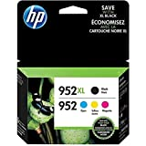 CWPA REMANUFACTURED INK CARTRIDGE REPLACEMENT FOR HP N9K28AN, 952XL/952PK - BLACK/CYAN/MAGENTA/YELLOW 4/PACK (4 CARTRIDGES IN A PACK/BUNDLE) FOR HP OFFICEJET PRO 8200