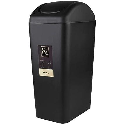 Amazoncom Cbtone 8 Liter 2 Gallon Plastic Trash Can With Lid