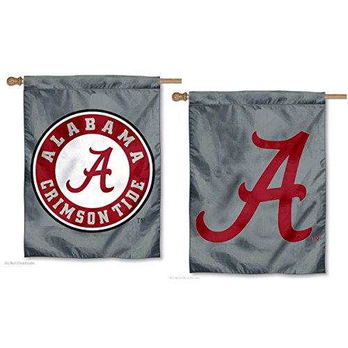 - College Flags and Banners Co. University of Alabama Double Sided House Flag