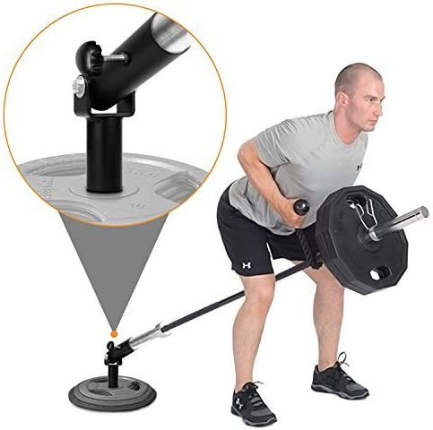 """TnP Olympic Barbell T Bar Row Weight Plate Weights Post Insert Landmine Fit 2/"""" 50mm Bars Bar"""
