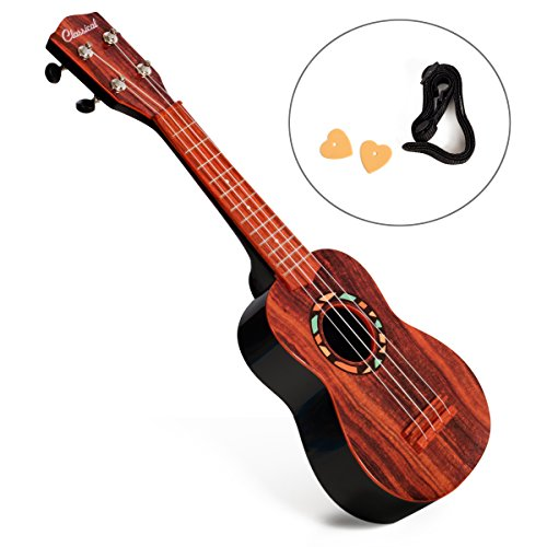 First Note USA 21'' Faux Wood Ukulele for Kids by First Note USA