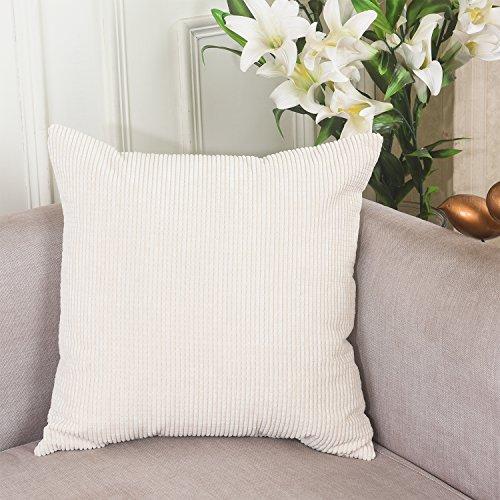 Brilliant Decorative Corduroy Cushion 18x18 inch