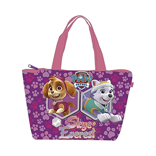 Patrol Oxford - Paw Patrol Summer/ Picnic/ Beach Bag in PVC in the Front & Strong Oxford Polyester Inside & Back