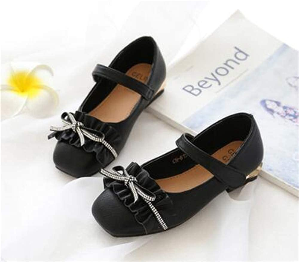Girls Loafers Mary Jane Dress Shoes Flats Cute Princess Shoes