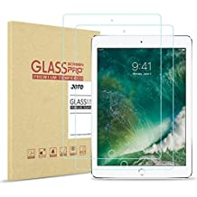 """iPad Pro 10.5 Inch Tempered Glass Screen Protector, JOTO iPad Pro 10.5"""" Glass Screen Protector Film Guard 0.33 mm Rounded Edge Real Glass Screen Protector for Apple 10.5 Inch iPad Pro 2017 (2 Pack)"""
