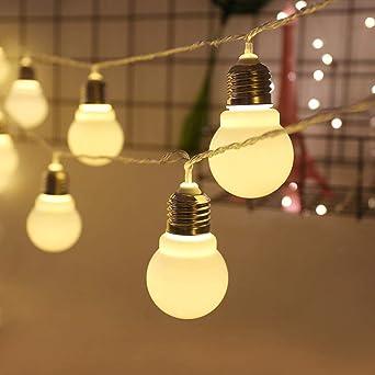 Gyyl Ball Light Fairy Lights Outdoor Battery Operated String