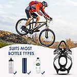 RUNACC-Porta-Borracce-per-Bicicletta-Porta-Borraccia-Portabottiglie-per-Bicicletta-Leggero-e-Stabile-PortabottiGlie-per-Biciclette-Mountain-Bike-Passeggino-e-Sedia-a-Rotelle-Porta-Borracce