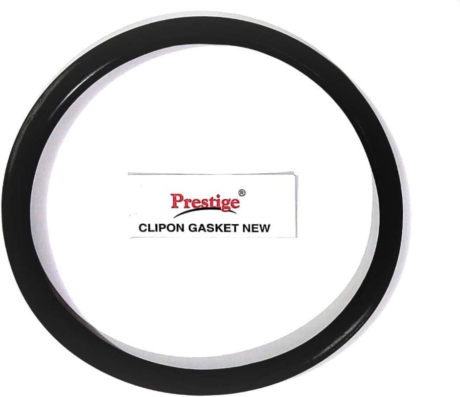PRESTIGE 60676 Pressure Cooker Gasket Sealing Rubber Ring, 22 cm, Black