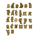 Walnut Hollow Hotstamps Lowercase Alphabet Branding and Personalization Set for Wood and other Surfaces