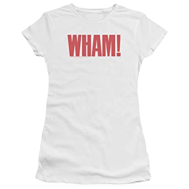 b44cc852156 Image Unavailable. Image not available for. Color  Wham! Logo Women s Bella  Brand T Shirt