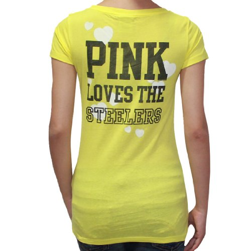 Get the Womens NFL Pittsburgh Steelers T Shirt by Pink Victoria s ... 9c5beb649