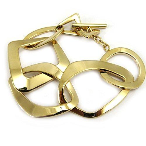 Altesse [L5347] - Bracelet plaqué or 'Calypso'