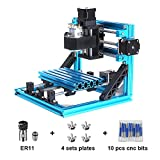 Best mini metal milling machine - CNC Router Engraving Machine 1610 Pro GRBL Control3 Review